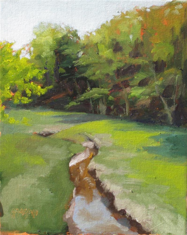 """crooked creek"" original fine art by Dan Graziano"