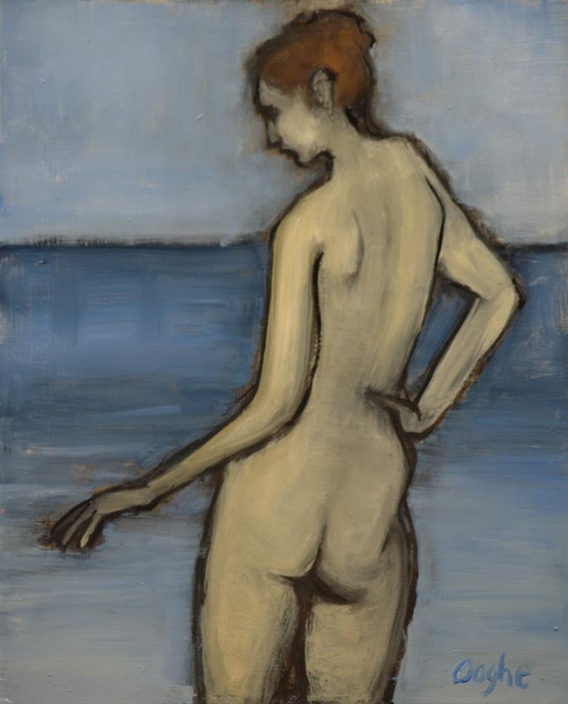 """Wading"" original fine art by Angela Ooghe"