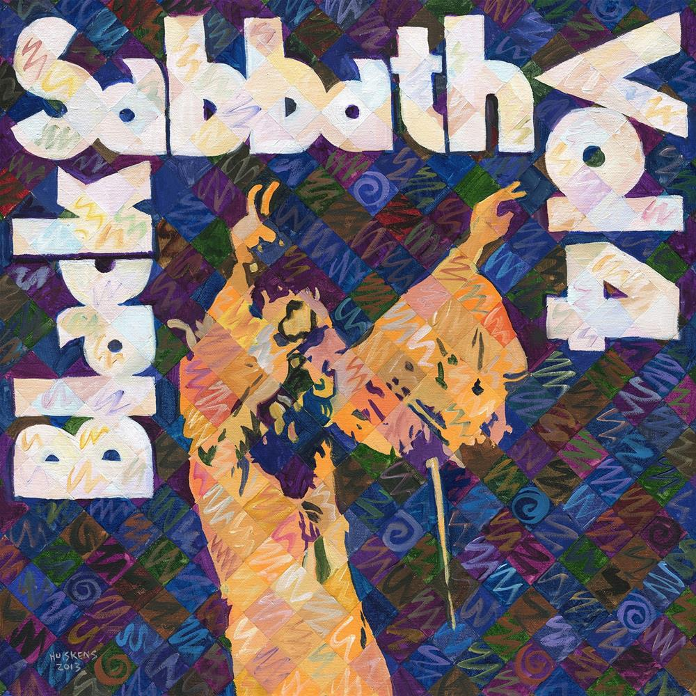 """Black Sabbath Vol. 4"" original fine art by Randal Huiskens"