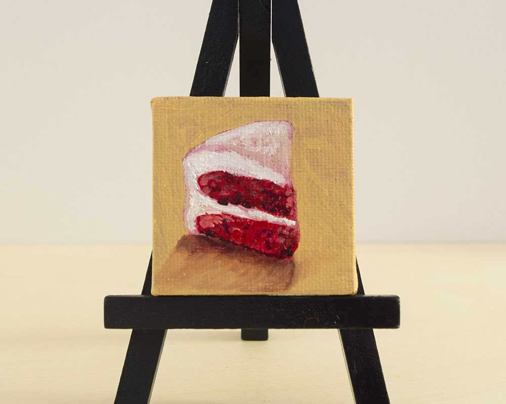 """Velvet Slice"" original fine art by Heather Orlando"