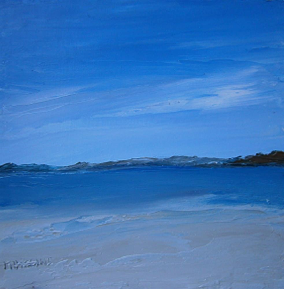 """Donegal Beach"" original fine art by Marie O' Higgins"