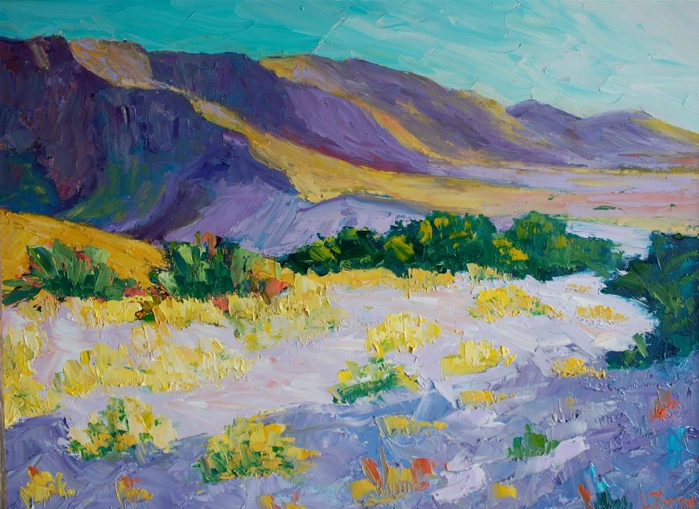 """Big Bend Shadows"" original fine art by Liz Zornes"