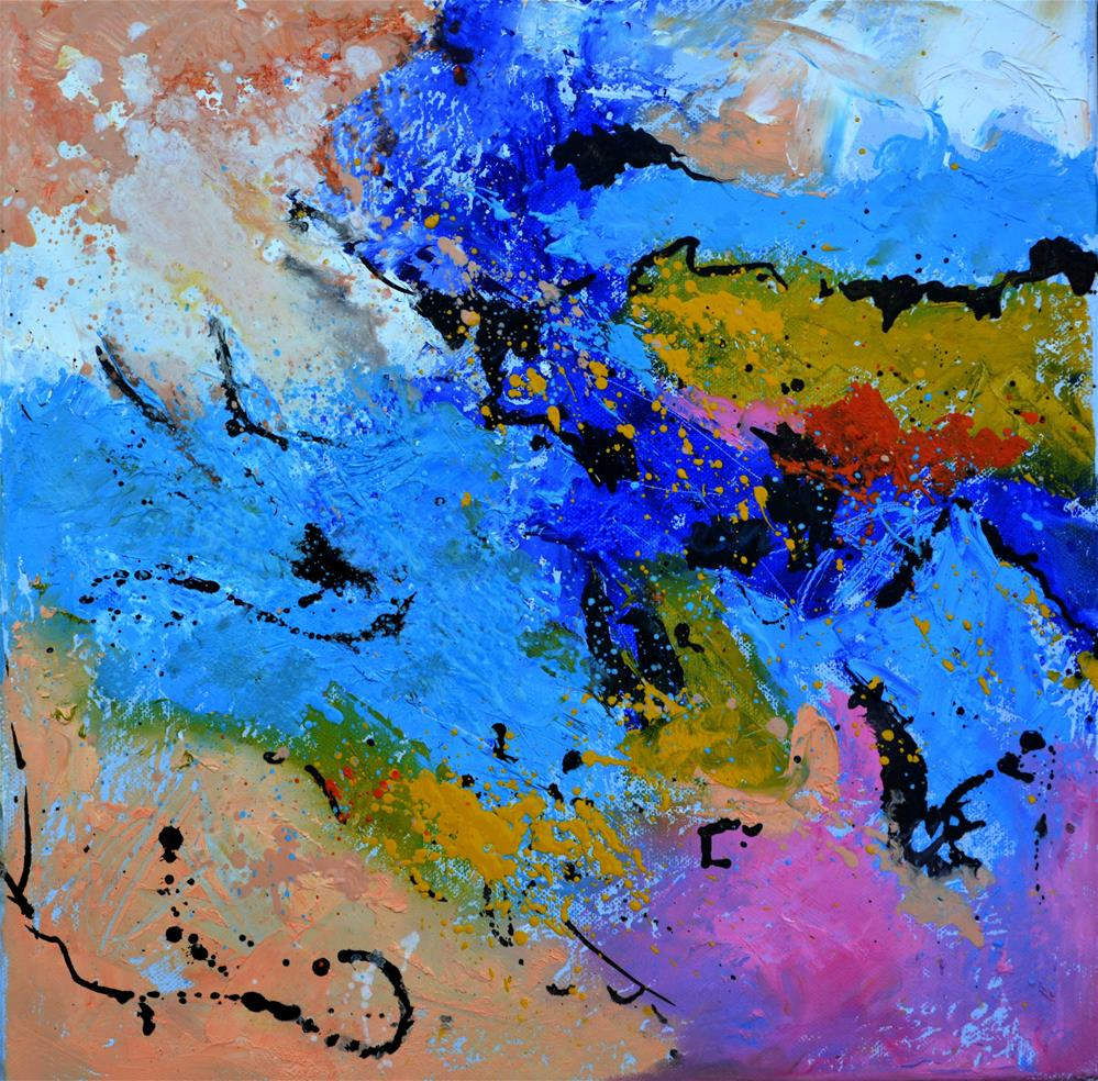 """abstract 5561903"" original fine art by Pol Ledent"