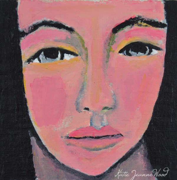 """""""Pam"""" original fine art by Katie Jeanne Wood"""