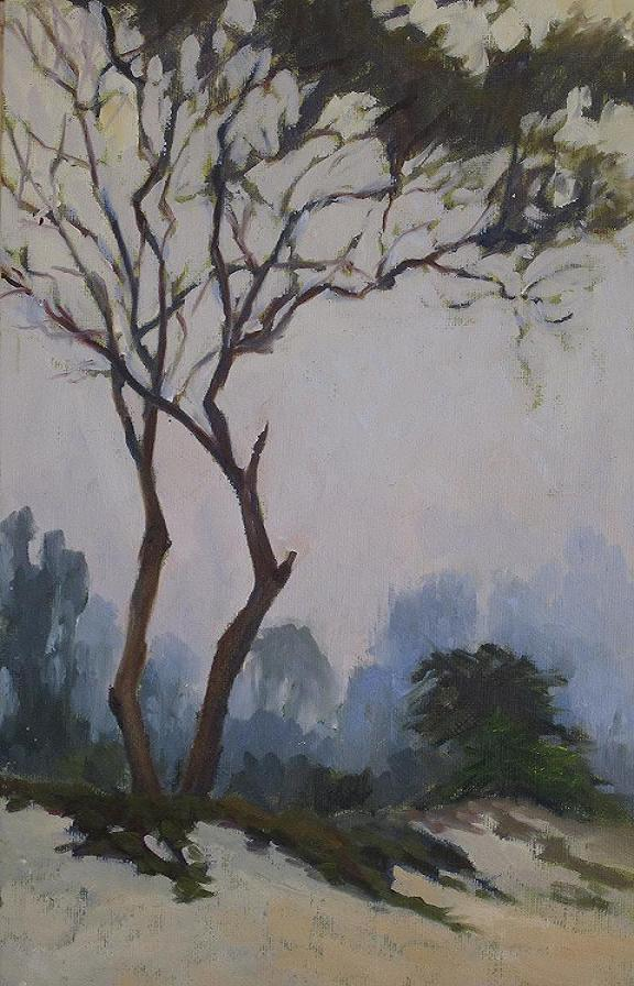 """""""still standing"""" original fine art by Leigh Alexandra Sparks"""