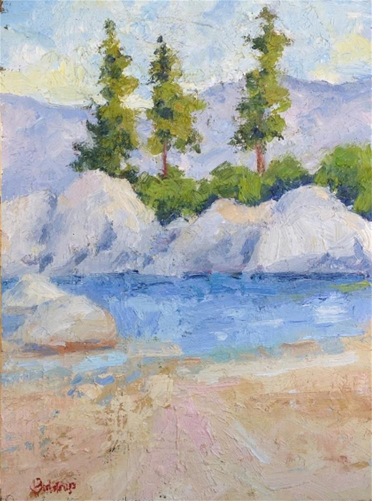 """Sand Harbor III"" original fine art by Mark Bidstrup"