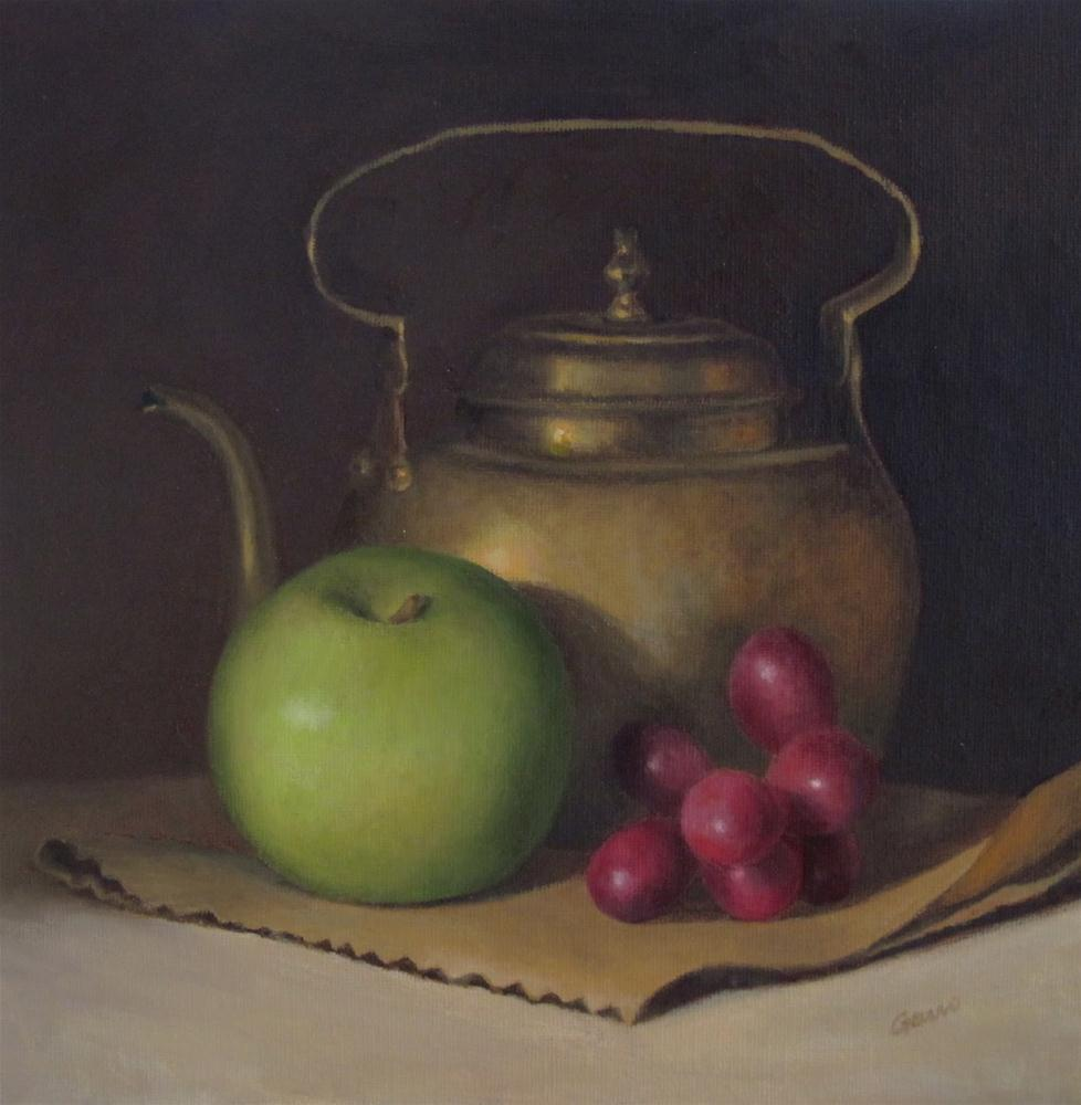 """""""Guild of Boston Artists Regional Painting Competition"""" original fine art by Michelle Garro"""