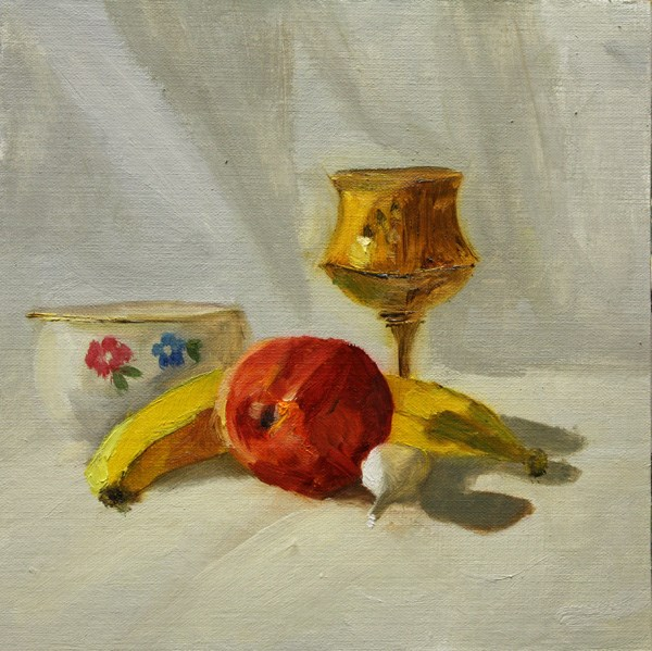 """High Key Still Life"" original fine art by Jane Frederick"