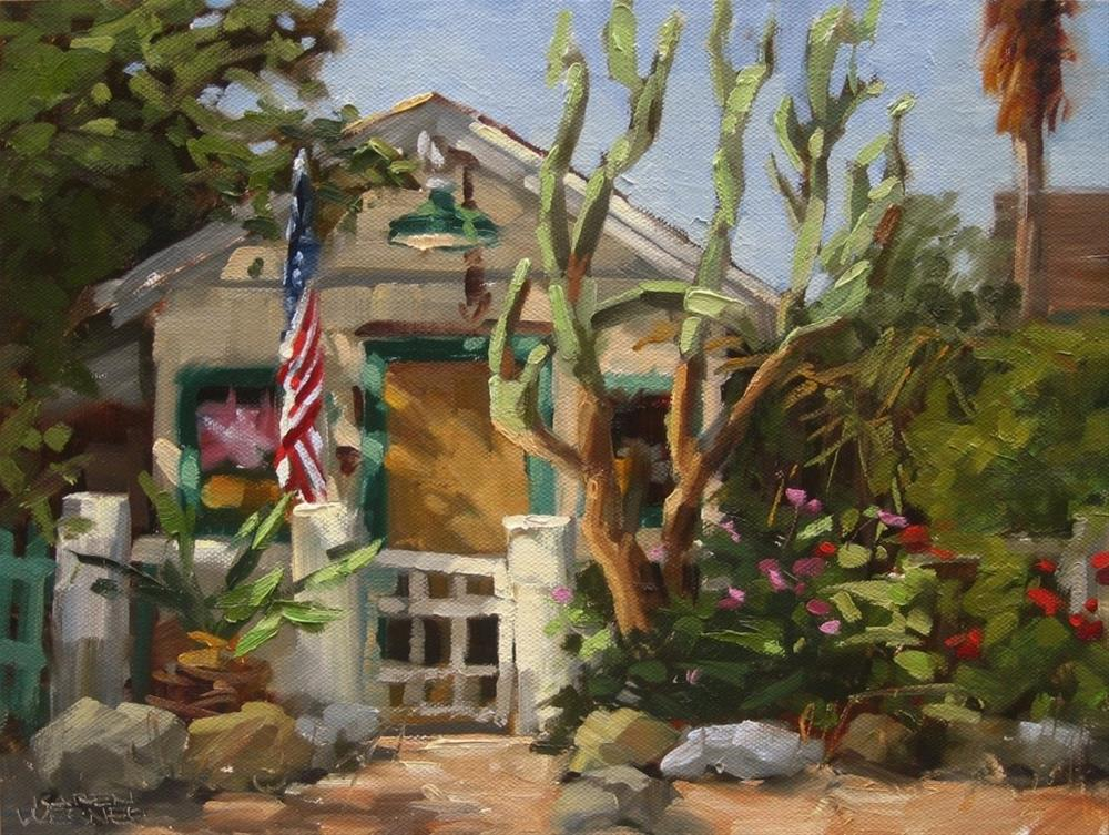 """Los Rios Cottage"" original fine art by Karen Werner"