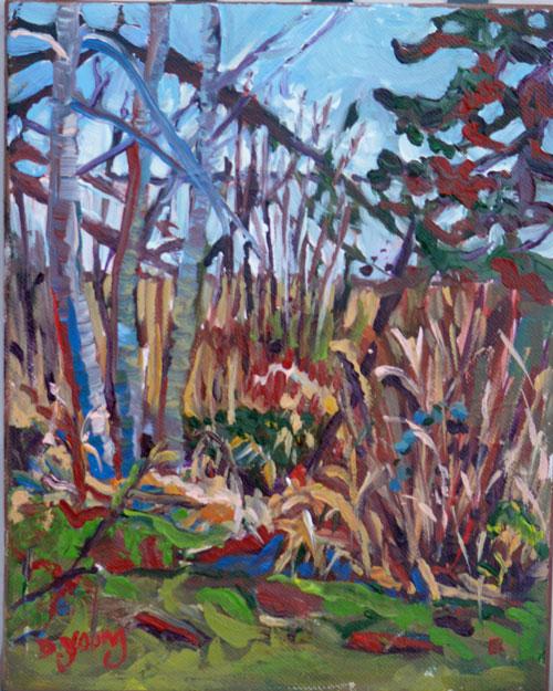 """Esquimalt Lagoon"" original fine art by Darlene Young"