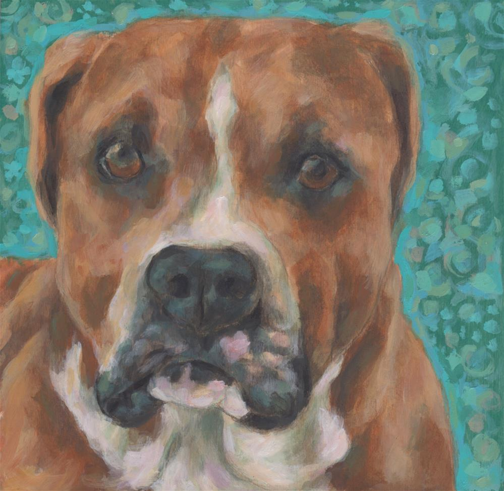 """Jack"" original fine art by Kathy Hiserman"