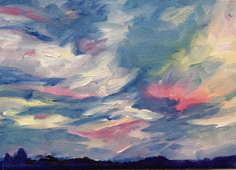 """""""After the Storm"""" original fine art by Rita Corrigan"""