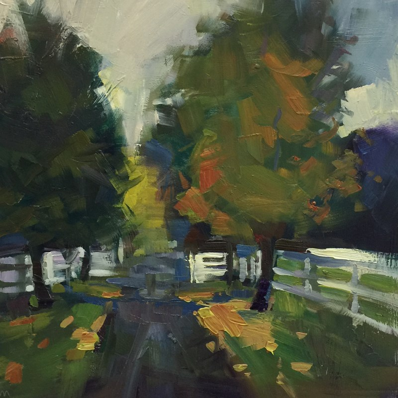 """One More for and of The Road"" original fine art by Patti McNutt"