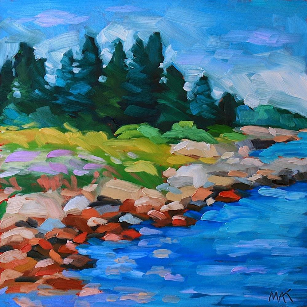 """Downeast"" original fine art by Mary Anne Cary"