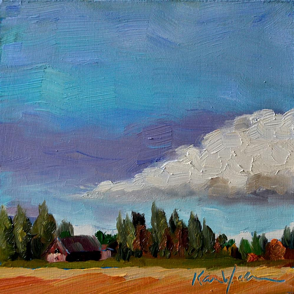 """Big Cloud"" original fine art by Karen Weber"