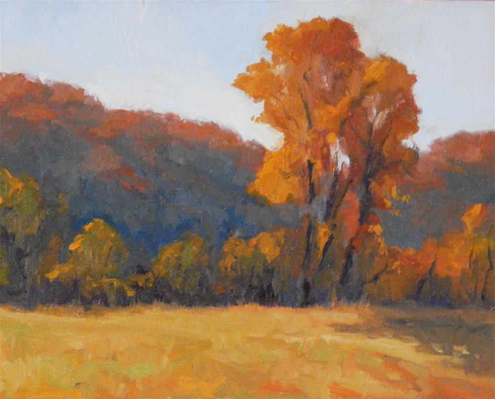 """Glorious Autumn"" original fine art by Lisa Kyle"