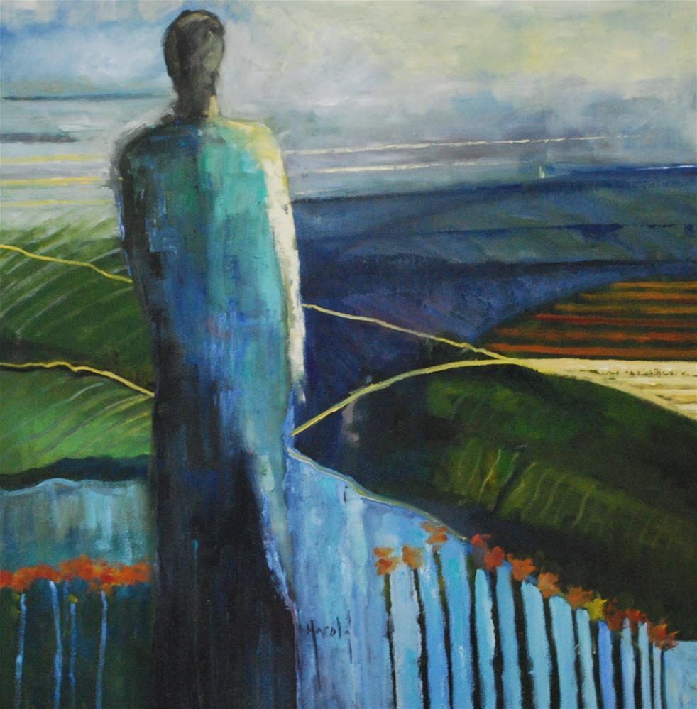 """Fields of Dreams"" original fine art by Deborah Harold"