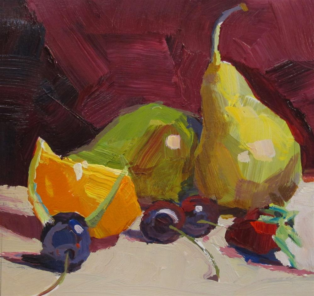 """Fruit Fest"" original fine art by Patti Mollica"