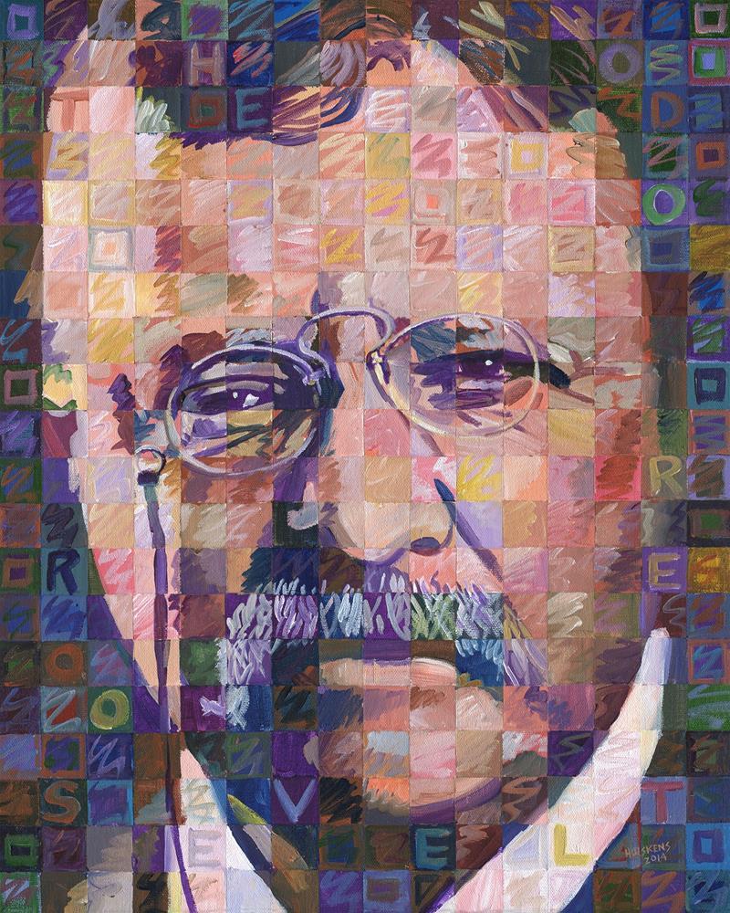 """Theodore Roosevelt"" original fine art by Randal Huiskens"