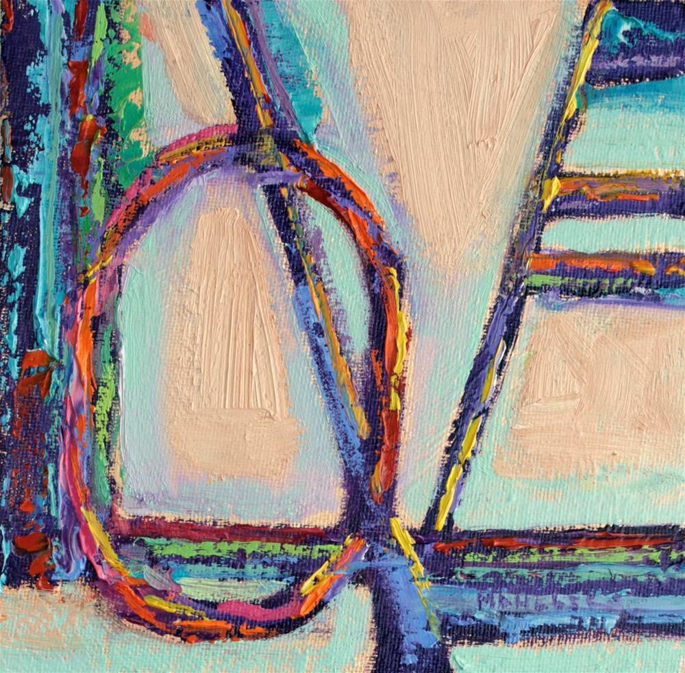 """Love John 3:16"" original fine art by Cynthia Mahlberg"