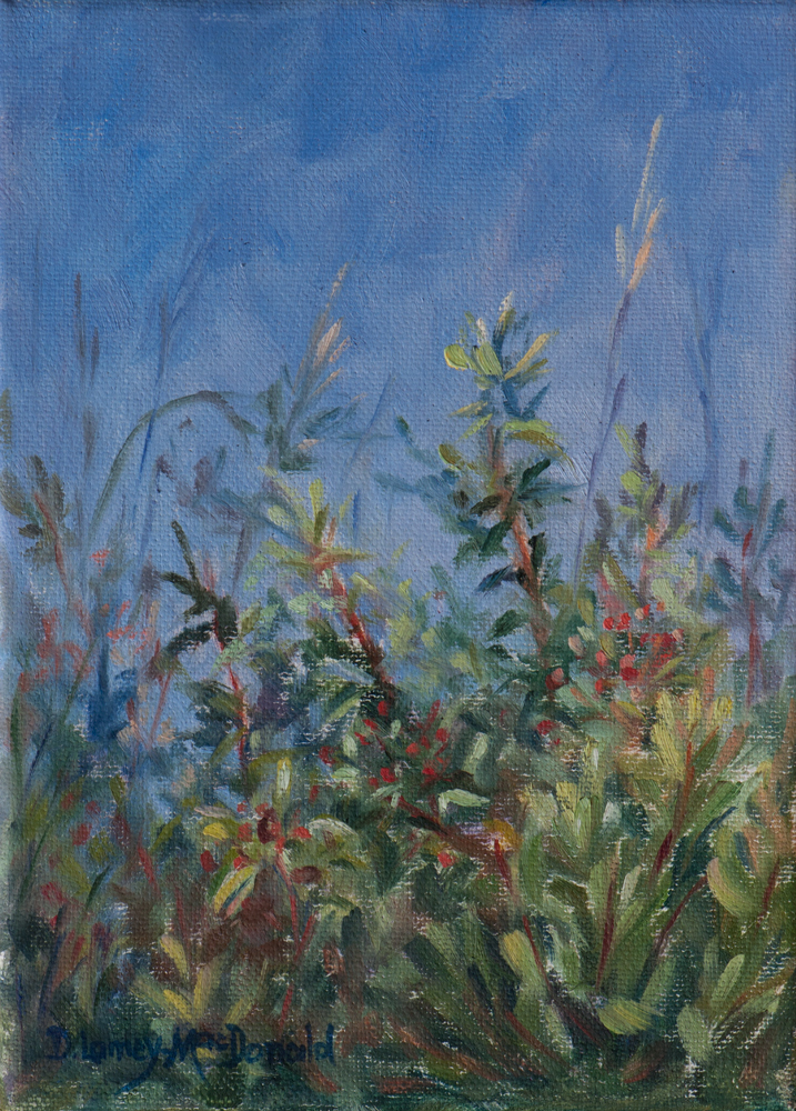"""Within the Breeze"" original fine art by Debbie Lamey-Macdonald"