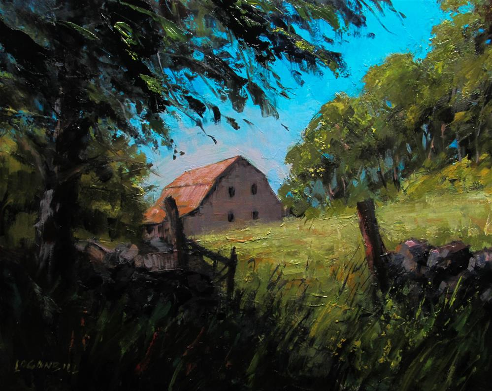 """Heritage Farm "" original fine art by Joseph Loganbill"