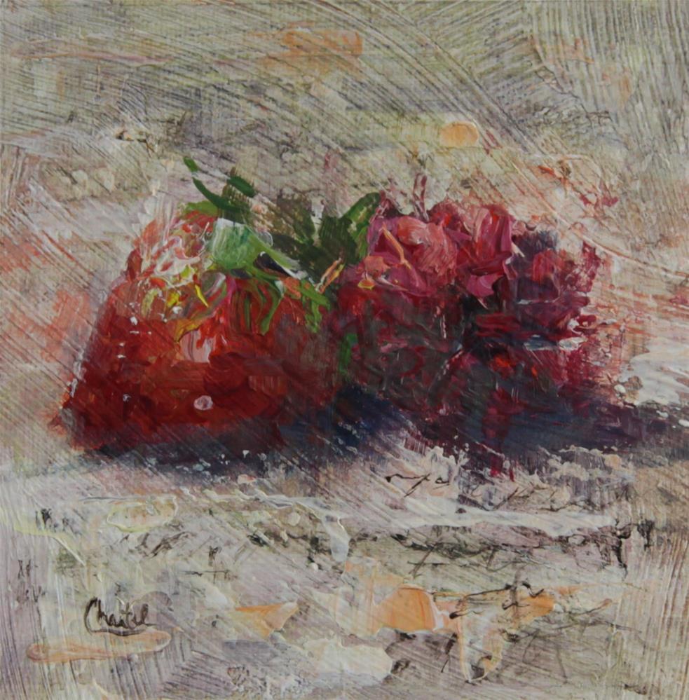 """Sweethearts"" original fine art by Chantel Barber"