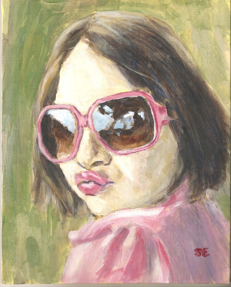 """Zoe"" original fine art by Stanley Epperson"