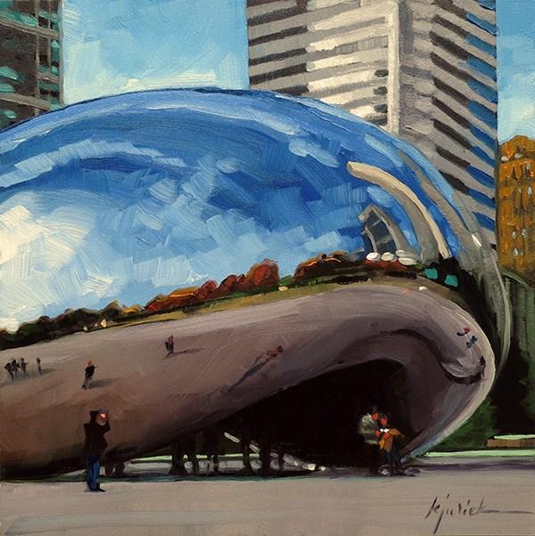 """Reflections"" original fine art by Karin Jurick"