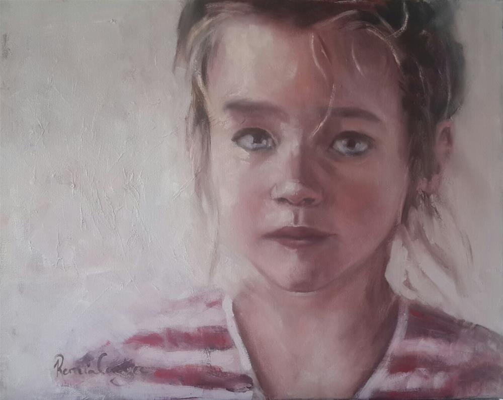 """Through my eyes"" original fine art by Rentia Coetzee"