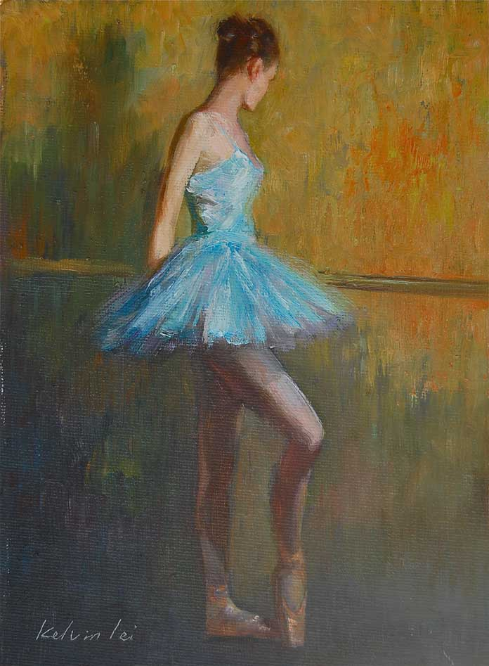 """Ballerina ( 06 )"" original fine art by Kelvin Lei"