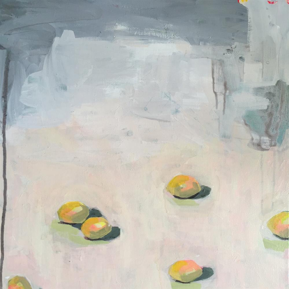 """114 March of the Lemon Drops"" original fine art by Jenny Doh"