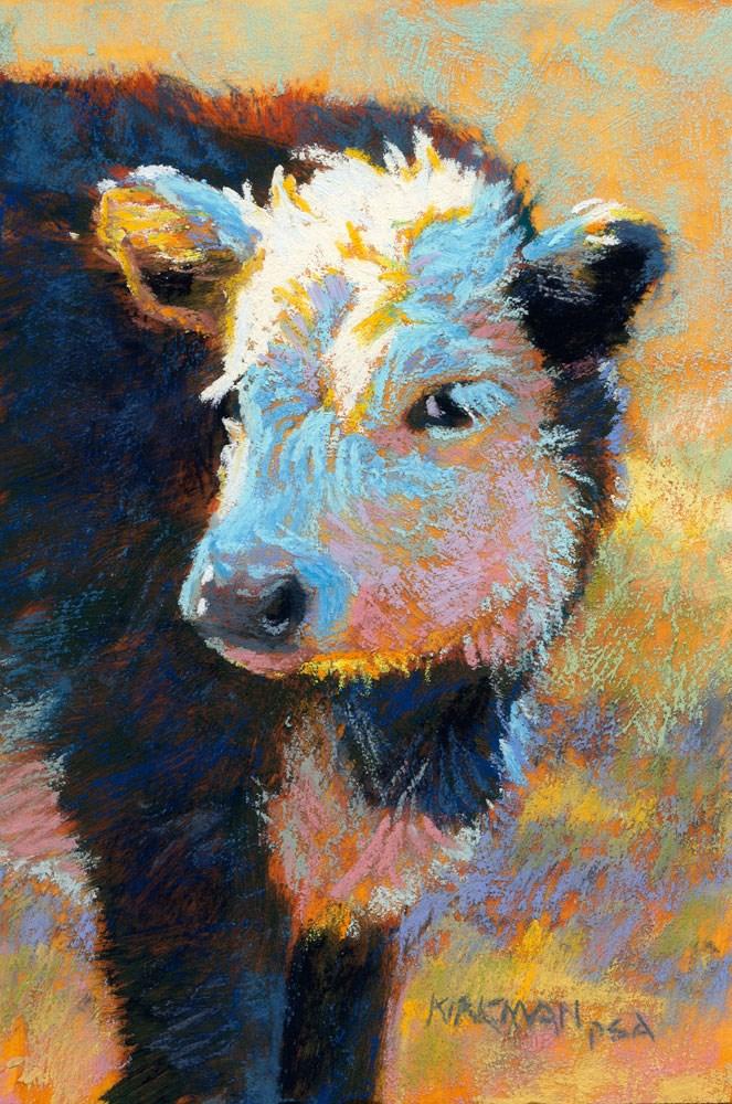 """""""Moggito"""" original fine art by Rita Kirkman"""
