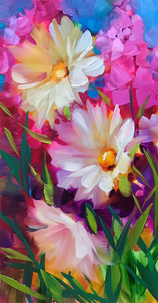 """""""How to Eliminate Cadmium Color from Your Palette"""" original fine art by Nancy Medina"""