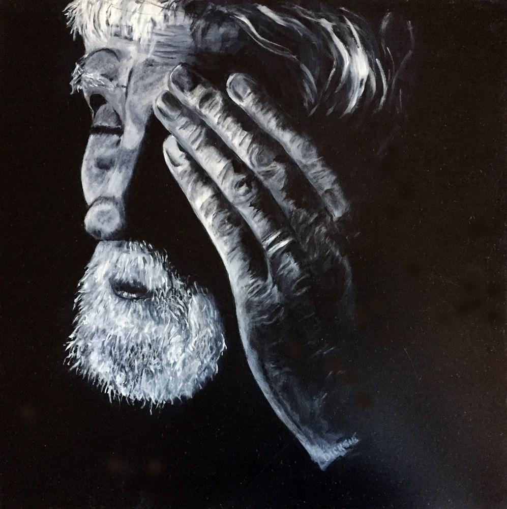 """Gino"" original fine art by Dicksie McDaniel"
