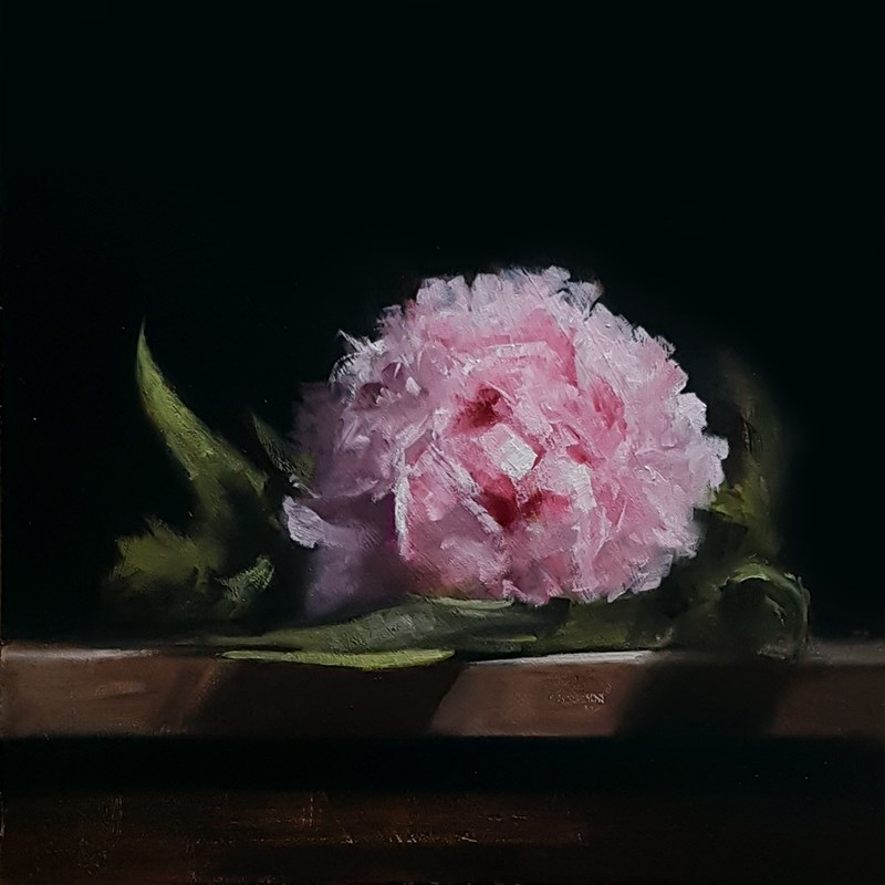 """Peony"" original fine art by Neil Carroll"