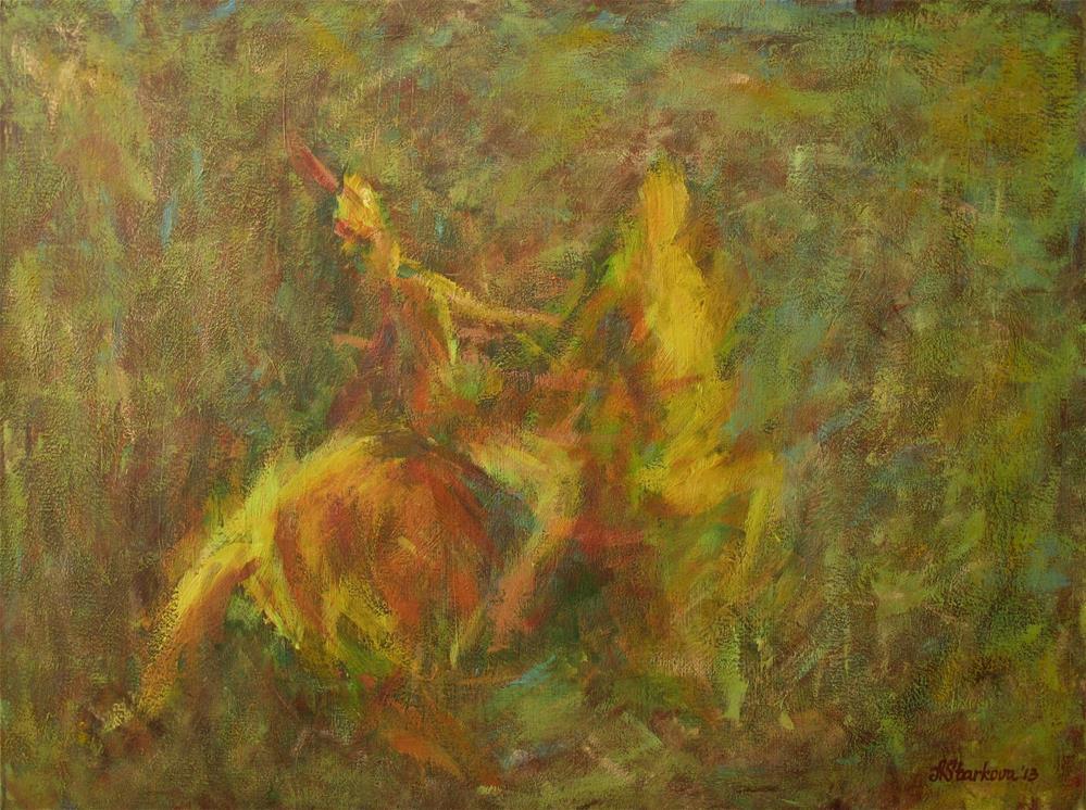 """Allure"" original fine art by Anna Starkova"