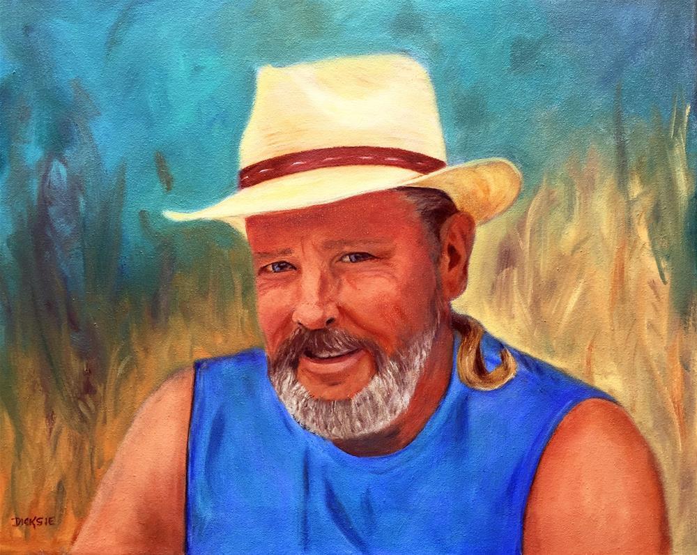 """My Guy, Joe"" original fine art by Dicksie McDaniel"