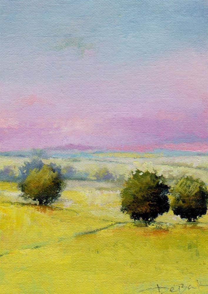 """happy, sunny day"" original fine art by V. DeBak"