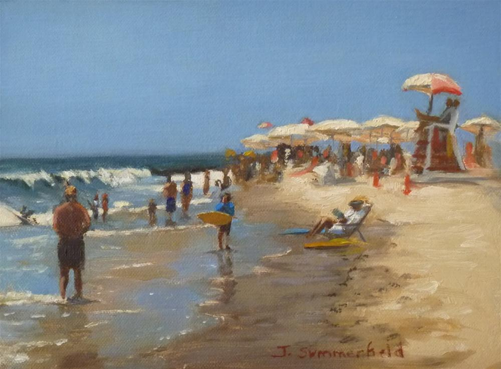 """Cape May Shore"" original fine art by Jonelle Summerfield"