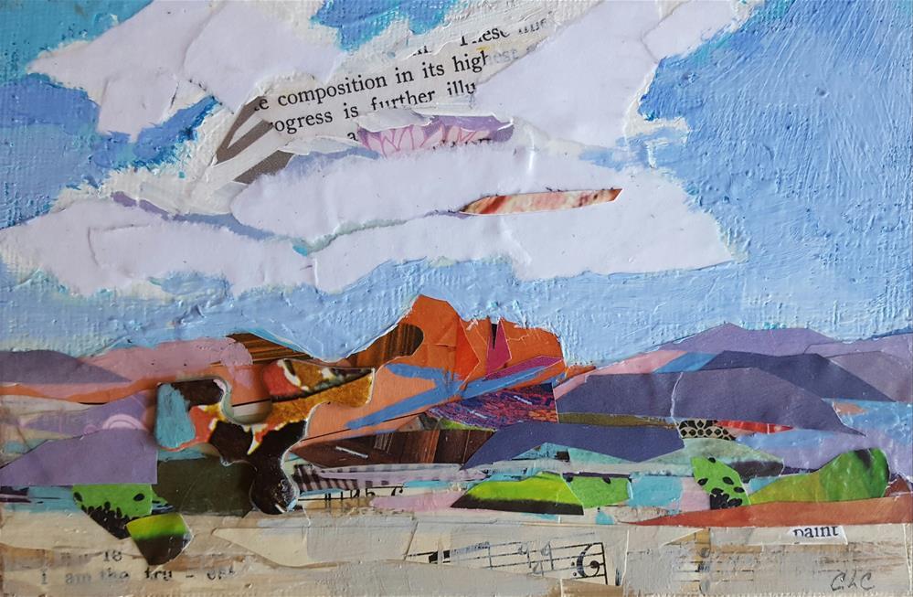 """Sedona Morning"" original fine art by Cindy Carrillo"