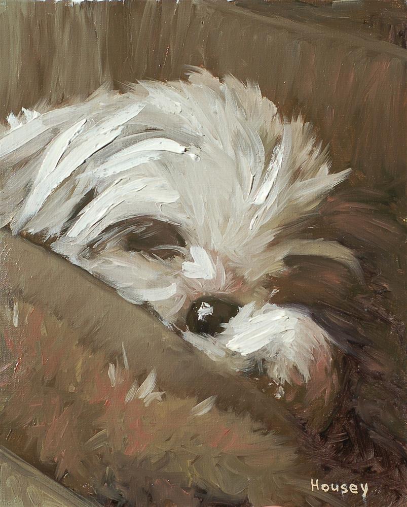 """Sleeping"" original fine art by Bruce Housey"
