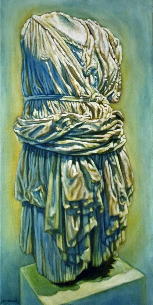 """Roman Garb"" original fine art by Margaret Horvat"