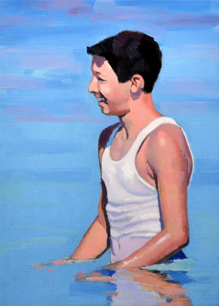 """""""#365 Wet T-Shirt"""" original fine art by Brian Burt"""
