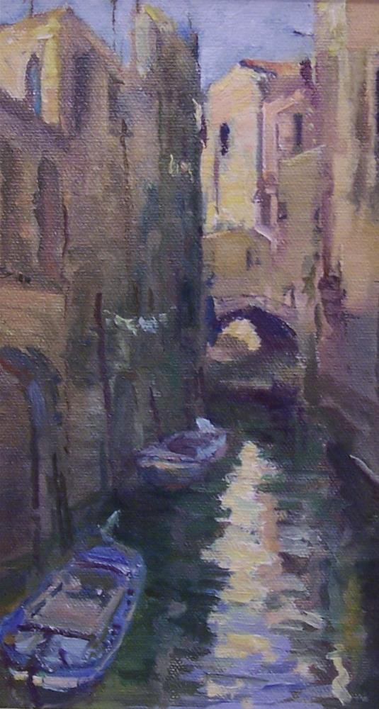 """Venice 2"" original fine art by John Shave"