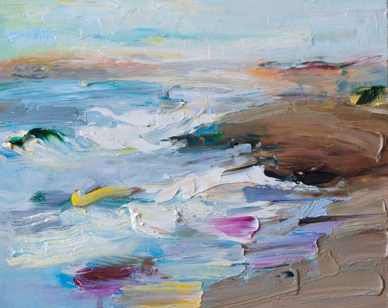 """Sea Dunes"" original fine art by Anna  Fine Art"