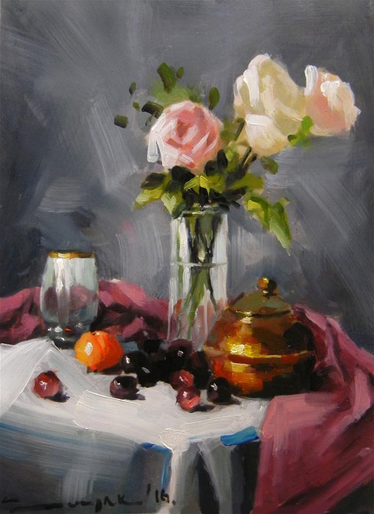 """""""Grey"""" original fine art by Dragan Culjak"""