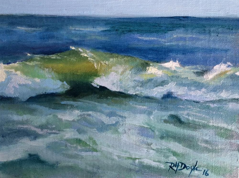 """Jones Beach Wave"" original fine art by Richard Doyle"