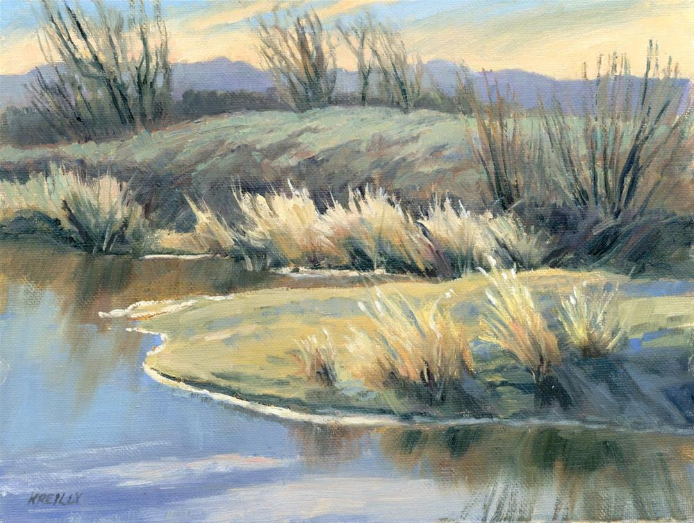 """Winter Thaw"" original fine art by Kath Reilly"