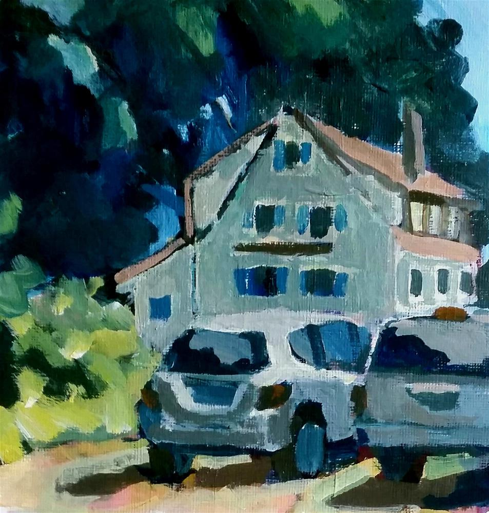 """A West Haven Home"" original fine art by Liz Maynes"